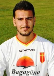 Antonio Croce con la maglia dellACR Messina