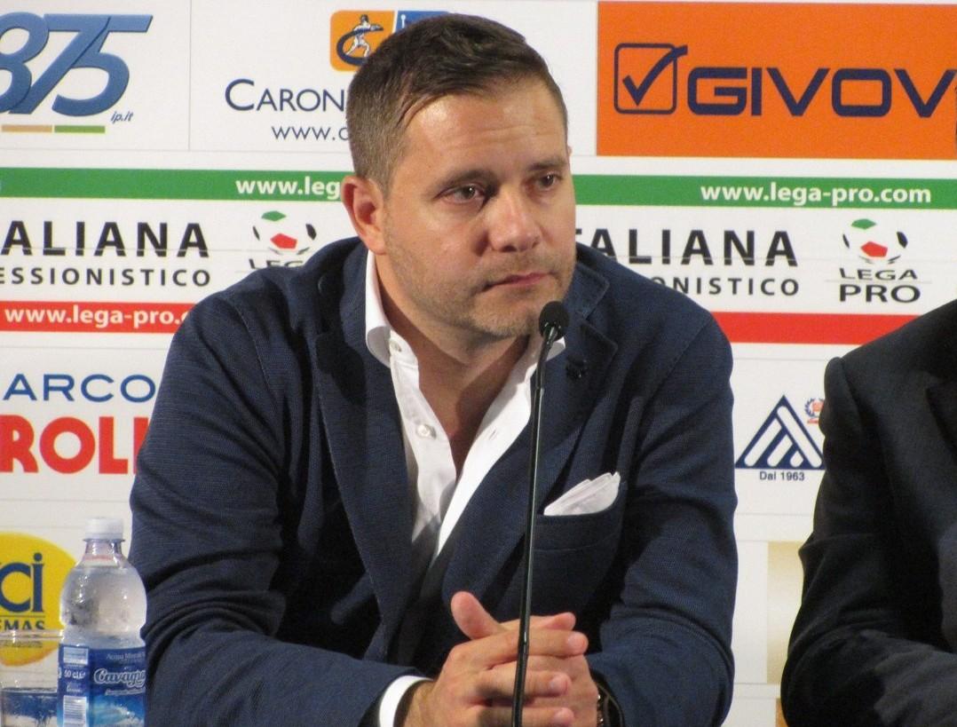 Il direttore sportivo Christian Argurio