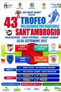 Locandina Trofeo Sant'Ambrogio