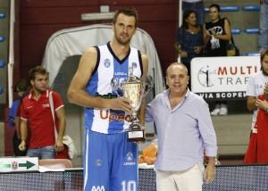 Il capitano Sandro Nicevic