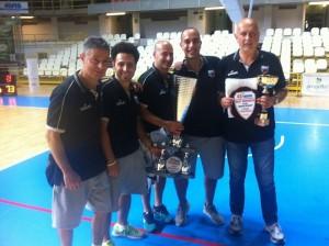 Premio miglior allenatore a coach Bartocci