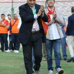 Ancora il presidente Stracuzzi sul terreno del San Filippo
