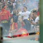 La Curva Sud dopo quattro mesi si lascia alle spalle il terribile derby con la Reggina