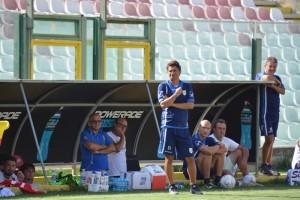 Arturo Di Napoli ed il suo staff in panchina