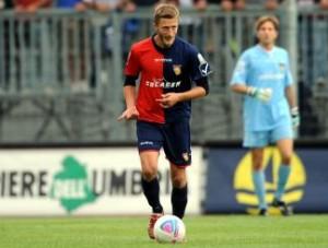 Baccolo ha indossato anche la maglia del Gubbio. 37 presenze e due reti in Prima Divisione