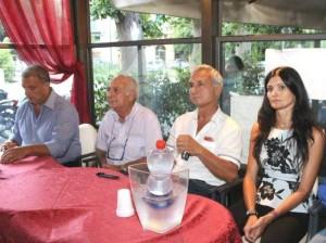 Burrascano (Dg),   Omodei (pres)-Giusi (Dt)  e mister Norma Pilota