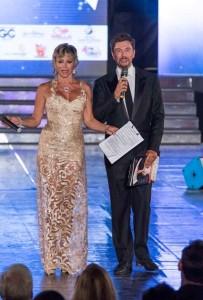 Carmen Russo e Riccardo Signoretti