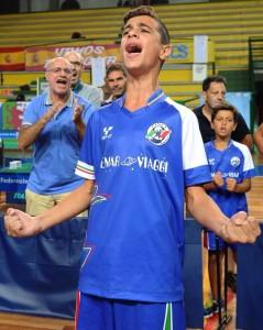 Claudio La Torre Campione del Mondo Under 15