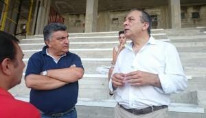 Il vice-presidente Gugliotta ed il presidente Stracuzzi