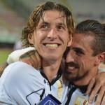 L'abbraccio tra Cocuzza e Giorgione