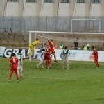 Il gol del pareggio realizzato da Diogo Tavares