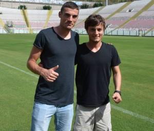 Il brasiliano insieme a Martinelli