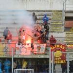 Fanno festa i tifosi giallorossi. In Puglia un punto preziosissimo