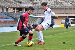 Fornito in azione con la maglia del Cosenza contro la Casertana