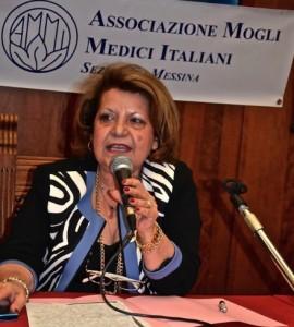 La presidente dell'AMMI Francesca De Domenico Leonardi