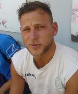 Il difensore centrale del Forza Calcio Giacomo Alibrandi