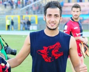 Giuseppe Fornito con la maglia dei ''lupi''. A Cosenza 32 presenze e 2 gol tra campionato e Coppa