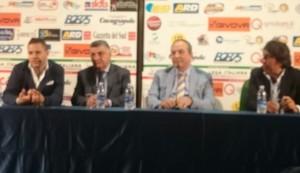 Ancora i quattro protagonisti della conferenza stampa