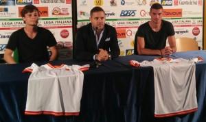 Gustavo, Argurio e Martinelli in sala stampa