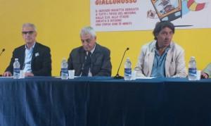 Foti, Cacciola e Manfredi in conferenza stampa