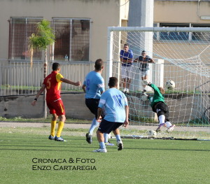 Il gol della Jonica firmato Lu Vito