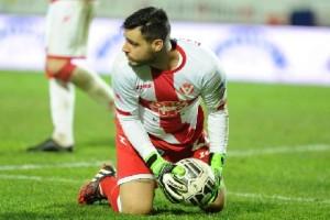 Il portiere Antonio Elia Bastianoni con la maglia del Varese. E' stato proposto al Messina