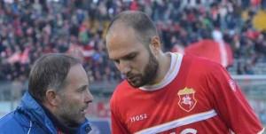 Il portoghese Diogo Tavares con la maglia dell'Ancona