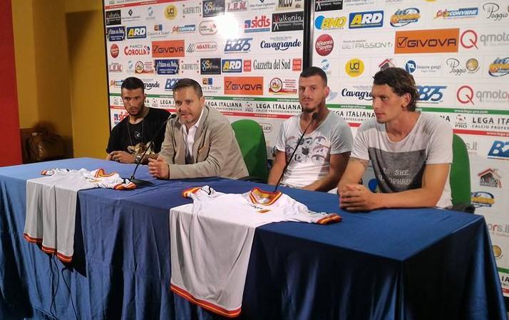 La presentazione di Berardi, Barraco e Burzigotti