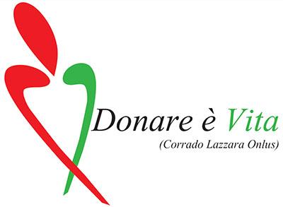 """Il logo dell'associazione messinese """"Donare è Vita"""""""
