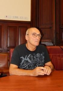Mario Sibilla, autore del libro L'Atletica nei segni e nei sogni
