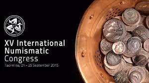 """La locandina del """"XV Congresso Internazionale di Numismatica"""""""