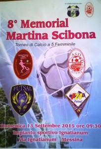 La locandina del Memorial Martina Scibona