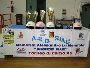 Il Memorial Alessandro La Mendola