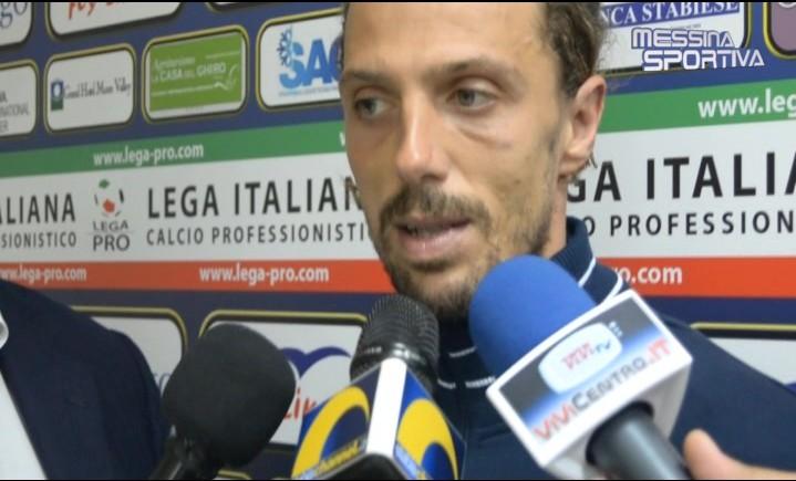 Il centrocampista della Paganese Simone Guerri