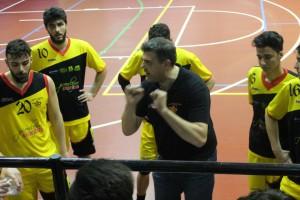 Il tecnico di Spadafora Luigi Maganza
