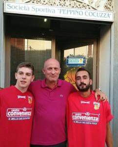 Bellomo, coach Romeo e Toto