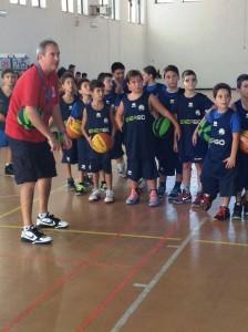 I più piccoli al lavoro con coach Gebbia
