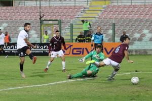 Il gol partita siglato da Salvemini