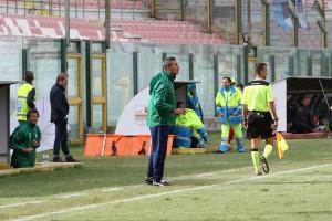 Padalino, allenatore del Matera (foto Denaro)