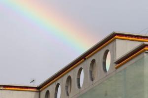 L'arcobaleno sul San Filippo