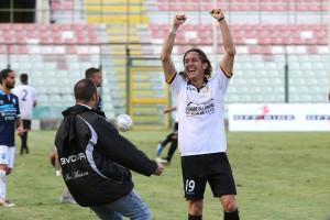 La gioia di Cocuzza: terzo gol stagionale ed altra affermazione
