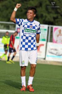 Max Lucarelli, autore del gol partita