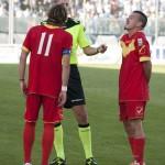 Cocuzza e Barraco contestano un fischio arbitrale