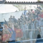 """I tifosi giallorossi presenti al """"Degli Ulivi"""""""