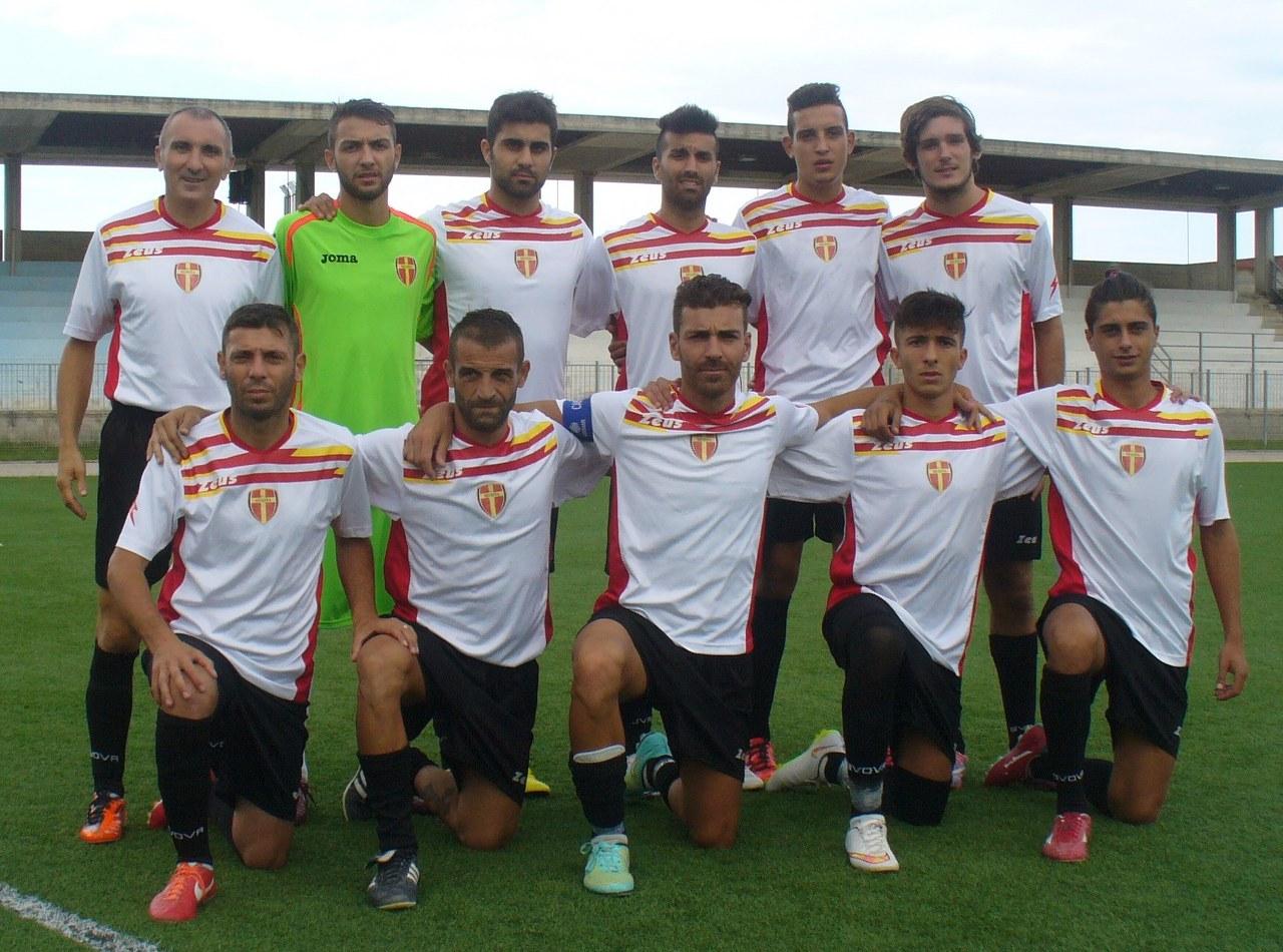 L'undici titolare del Forza Calcio Messina