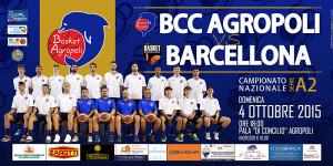 Sfida inaugurale tra Agropoli e Barcellona