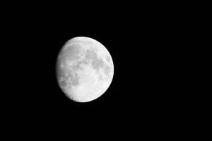 La splendida luna che ha sovrastato il San Filippo