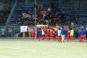 Il Messina resta imbattuto e festeggia con i suoi tifosi