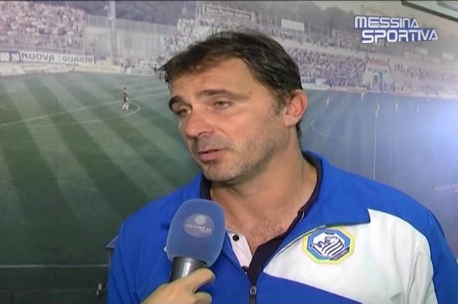 Il tecnico della Fidelis Andria Luca D'Angelo
