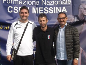 Andrea Argento, Giuseppe Trovato e Domenico Calì